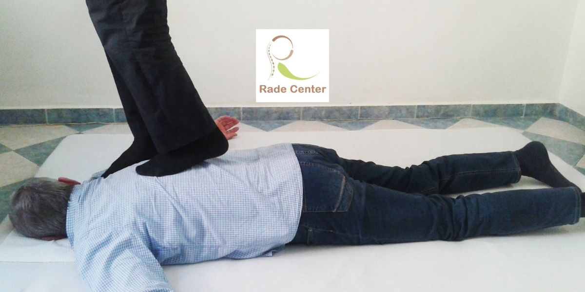 Balkan massage logo Rade Center