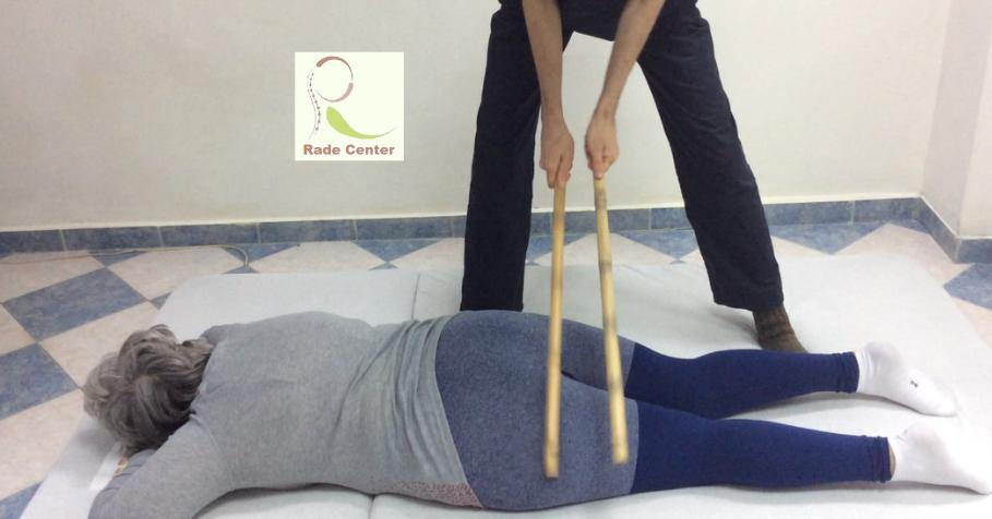 Bamboo massage logo Rade Center